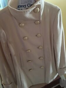 Aritzia Cream Jacket - Talula Babaton - Size Small