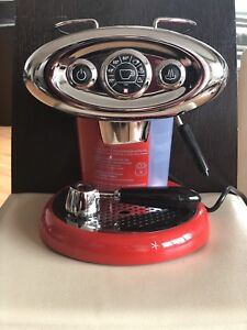 Illy Espresso Maker - X7.1 Iperespersso - RED