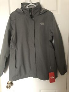 North Face Women's jacket grey. Large. Brand New With Tags!!