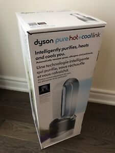 Brand New DYSON Pure Hot+Cool Link Purifier Heater - White
