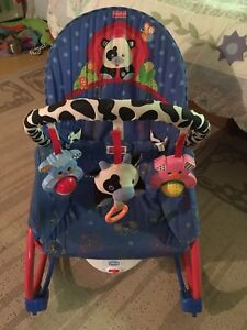 Fisher Price Vibrating Bouncy Seat