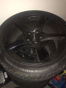 Wheel and tyres VE Holden commodore with 80% tyres East Maitland Maitland Area Preview