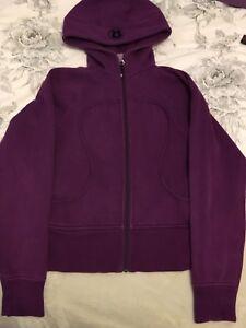 lululemon purple sweater