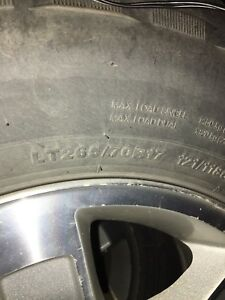Chevy/ GMC factory 17 inch rims and tires