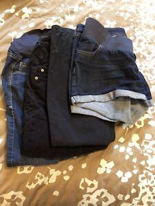 Maternity shorts+pants (gap & old navy)