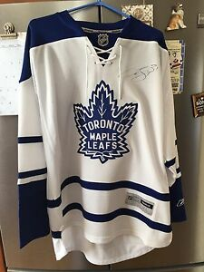 Signed Curtis Joseph leafs jersey