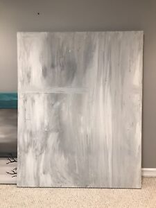 Original Abstract Painting on huge Canvas 4'x 5'