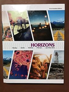 HORIZONS book and activities manual for FREN 1007 Dalhousie