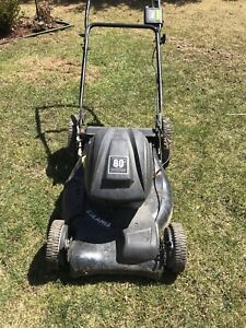 Solaris chargeable lawnmower