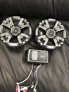 Fusion Marine Amp and Speakers