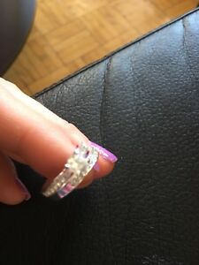 Sterling silver rings size 7
