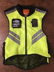 Icon milspec high visibility motorcycle vest
