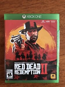 Red Dead Redemption 2 XB1 with add-on code, like brand new!