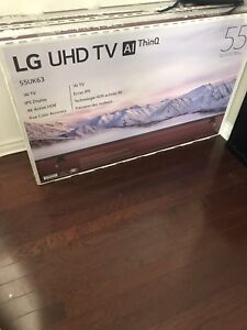 LG 55 inch smart 4K TV in the box for sale