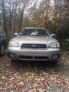 Parting out 2003 Subaru Legacy outback