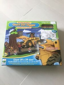 Puzzle Doubles!  Giant Dirt Digger