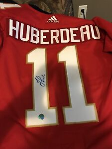 Signed huberdeau Florida panthers jersey