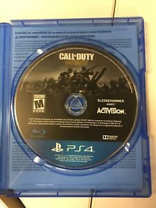 Call of Duty WWII for PlayStation 4