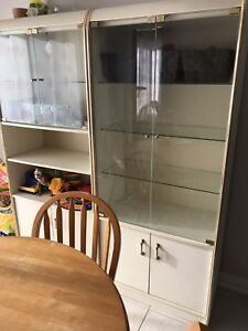 2 Cupboards dinning living room kitchen