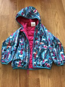 Pantagonia reversible puff ball jacket - 3T