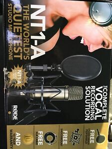 Rode NT1A Mic Packages