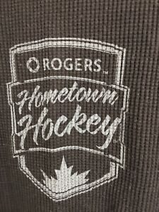 Rogers hometown hockey waffle jerseys XL and L. $25 each