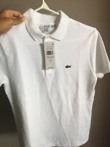 Lacoste Polo with tags size Medium *Kids*
