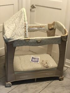 GRACO TRAVEL CRIB/BASSINET PLAYPEN