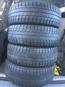 4-195/65R15 Michelin winter tires