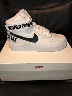 Supreme airforce 1 high US10 Carlton Melbourne City Preview