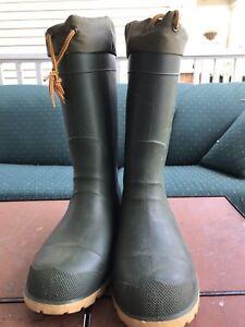 Men's Size 8 Kamik Rubber Boots