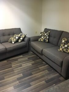 4 seater sofa and armchair and carpet good price