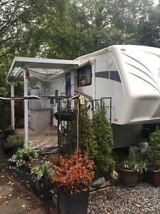Jayco Eagle bunkhouse at Hazelmere rv park
