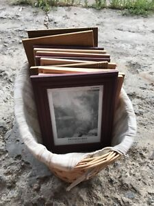 """5x7"""" picture frames QTY 11"""