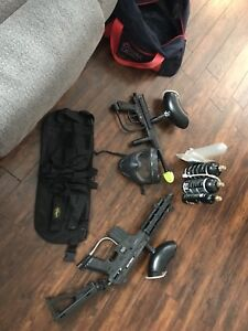 Complete 2 markers and accessories