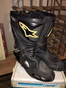 Alpinestars SMX riding boots size 47 (12 US) used
