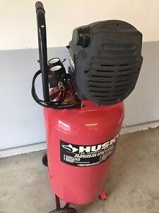 Husky 26 gallon air compressor