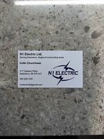 New company N1 ELECTRIC 65$/hr or priced by job