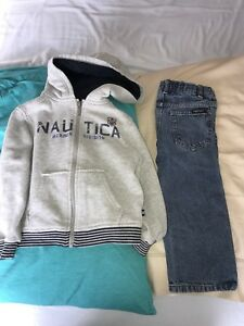 Nautica Hoodie and Jeans - 3T