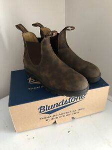 Men's Blundstone's - Brown Leather, Size 8.5