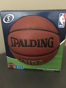 "BNIB 29.5"" Indoor/Outdoor Spalding Basketball"