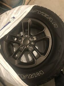 2016 Jeep Wrangler 1941 edition alloy wheels take offs