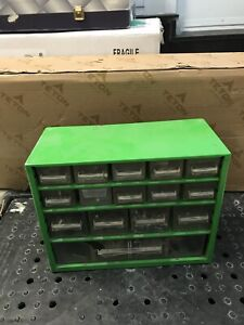 Screw storage box