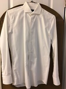 Mens HUGO BOSS white shirt size 15(read ALL)