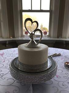 Wedding cake topper / frame/candle holder