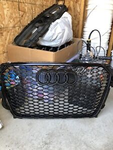 Grille audi a4 b8.5 style rs4