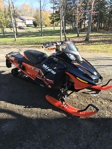 2015 Skidoo Renegade X 1200- Low Miles-With One + One Seat