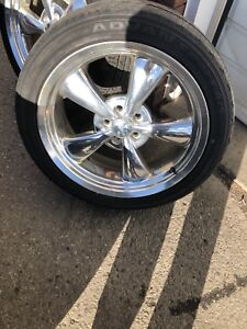 Dodge Challenger Heritage rims and tires with TPMS