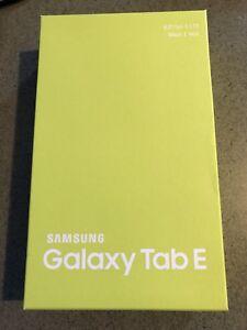 New Galaxy Tab E