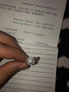 Engagement Ring from Peoples